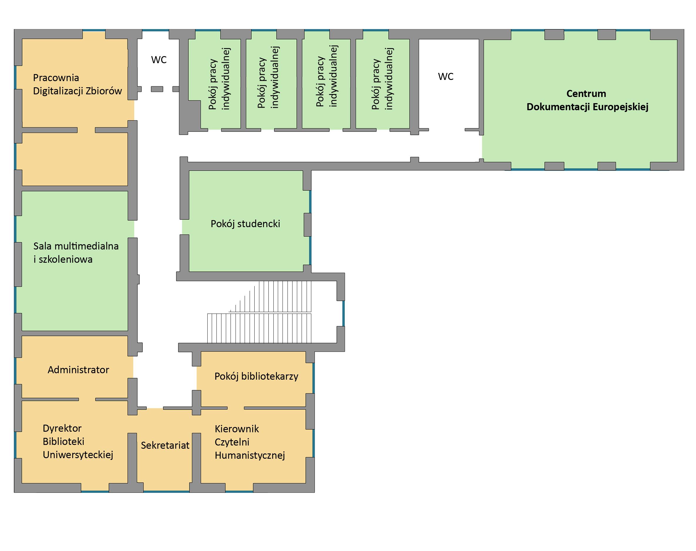 Akademicka II piętro