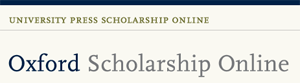 Oxford Scolarship Online