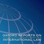 Oxford Reports on International Law